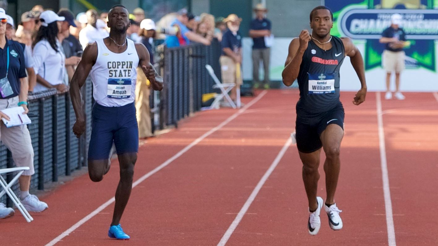 Amoah Leads Men S Track At Pepsi Florida Relays Coppin State University Athletics
