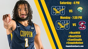 Men's Hoops to Host Norfolk and SC State